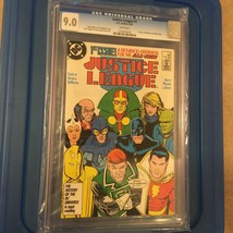 DC Comics JUSTICE LEAGUE #1 1987 CGC 9.0 1st appearance Maxwell Lord - $29.02