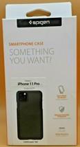 iPhone 11 Pro Spigen Thin Fit Slim Protective Cover Phone Case - Black - $8.75