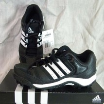 Adidas Corner Blitz 8 J Low Youth Football SHOES/CLEATS BLACK/WHITE - $18.99
