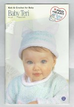 Knit and Crochet For Baby Red Heart Baby Teri Book 0139 - $9.50