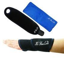 Wrist Ice Gel Pack Wrap-Hot/Cold Hand Therapy for Injuries, Sprains, Muscle Pain - $13.54