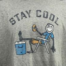 Life Is Good Stay Cool Hommes XL T-Shirt Coupe Classique Concasseur Se P... - £18.26 GBP