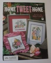 Home Tweet Home Leisure Arts Cross Stitch Pattern Book Baatz Bird Birdho... - $10.40