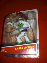 "DISNEY/PIXAR TOY STORY LASER ACTION BUZZ LIGHTYEAR 4"" POSABLE FIGURE NEW... - $21.99"