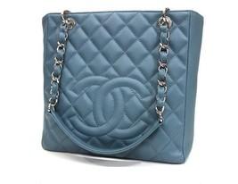 AUTHENTIC CHANEL Caviar Leather Matelasse Quilt... - $2,400.00