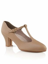 Capezio Women's Jr. Footlight T-Strap Dance Shoe (8.5|Caramel) - $51.36