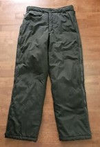 St Moritz Womens Ski Pants Size Small Black Nylon Waterproof Insulated V... - $34.64