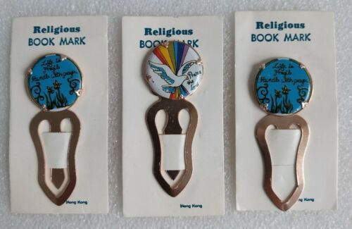 Religious Bookmarks, Set of 3