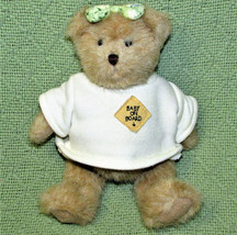 "2003 Boyds Bears Teddy Stuffed Animal Baby On Board 8"" Jointed Plush Pregnant - $14.85"
