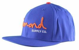 Diamond Supply Co. o.G. Royal Blue Snapback Hat Size: o/S