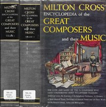 Milton Cross' Encyclopedia of the Great Composers and Their Music: Volum... - $6.32