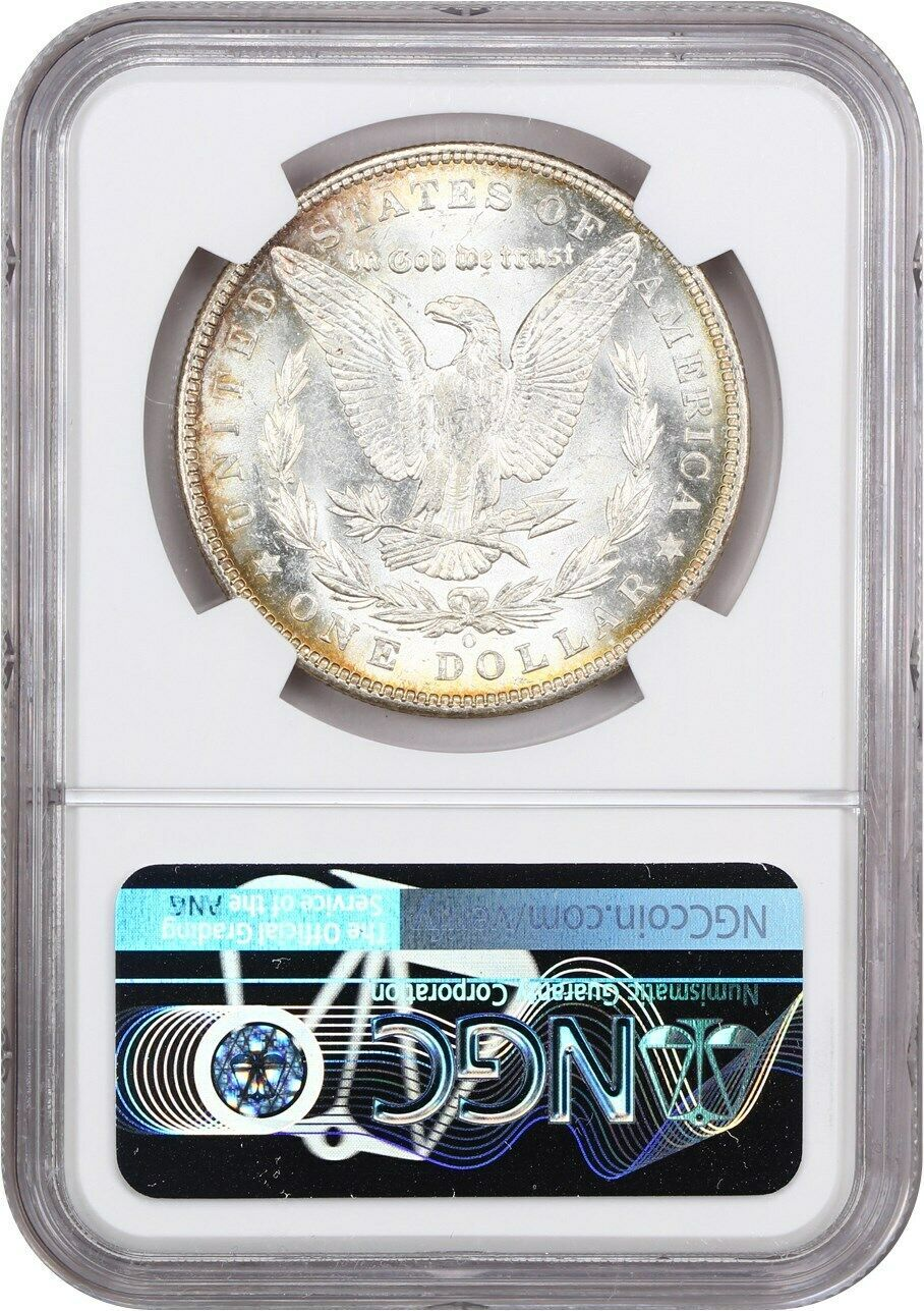 1904-O $1 NGC MS63 - Morgan Silver Dollar