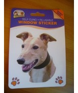 GREYHOUND  DOUBLE SIDED WINDOW STICKER STYLE TWO - $3.88