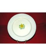 Crown Ducal #A3122 Black Bead Border Salad Plate - $8.18