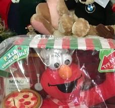 Singing Pizza Elmo 2007 Plush Toy Sesame Street Fisher Price Stuffed Animal Toy - $130.68