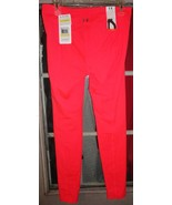 """1 new under armour ua perfect 33.5"""" pants / leggings pink size XL fitted - $30.00"""