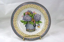 Sakura 2000 Spring Bouquet Purple Floral Salad Plate - $4.84