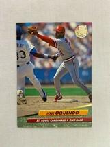 Jose Oquendo St Louis Cardinals 1992 Fleer Baseball Card 267 - $2.96