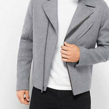 Michael Kors Ash Motorcycle wool coat - $46.43