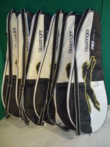 6 Slazenger Pro Carbon Ti Tim Henman Tennis Racquet Covers / Bags Only R... - $63.36