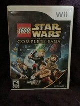 Lego Star Wars: The Complete Saga (Nintendo Wii, 2007) Complete - $11.99