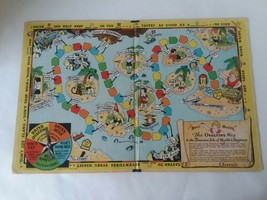 1933 Little Orphan Annie Board Game - Ovaltine Way To Treasure Isle of H... - $19.79