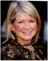 MARTHA STEWART Signed Autographed 8X10 Photo w/ Certificate of Authentic... - $34.00