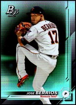 2019 Bowman Platinum #93 Jose Berrios NM-MT Minnesota Twins - $0.99
