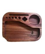 Compact Rolling Tray (Genuine Mahogany) - $48.95