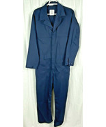 NEW US NAVY Military Issued Utility Coveralls 44R Jumpsuit Navy Blue - $19.79