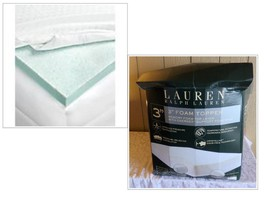 $560.00 Ralph Lauren 3'' Thermaphase Gel Energex Foam Mattress Topper, Q... - $103.95