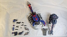 Tomy Zoids Lot Sea Scorpion Death Stinger #036 Elephander Elephant #038 Robots  - $49.99