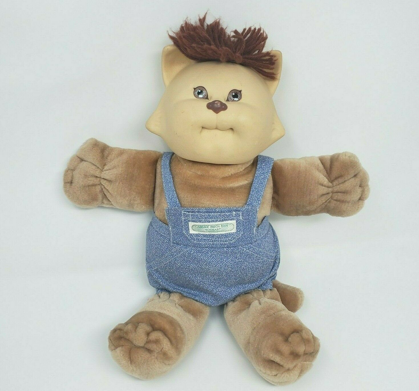 Primary image for VINTAGE 1983 CABBAGE PATCH KIDS KOOSAS DOLL STUFFED ANIMAL PLUSH TOY W/ PANTS  F