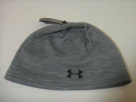 Under Armour Mens Strom Water Resistant Beanie Hat Color Gray One Size  - $28.01