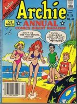 ORIGINAL Vintage 1985 Archie Annual Digest #47 GGA Double Swimsuit Cover - $18.55