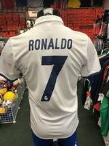 adidas Real Madrid 2016/17 Men's Stadium Home Jersey w/ Ronaldo 7 Size XXL - $84.15
