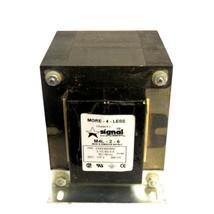 Signal M4L-2-6 600VA Transformer 115V 50/60Hz PRI: 210/230/250V - $68.95