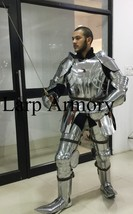 Plate Armour 15th Century Knight Combat Suit Of Armor Medieval Larp/Reenactment - $799.00