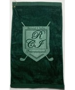 Terry Collection Plush Golf Towel & Grommet Resort Clubs International G... - $19.59