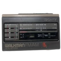 VTG Sony Walkman WM-F59 / F69 Cassette Player Radio Receiver  FOR PARTS  - $34.64