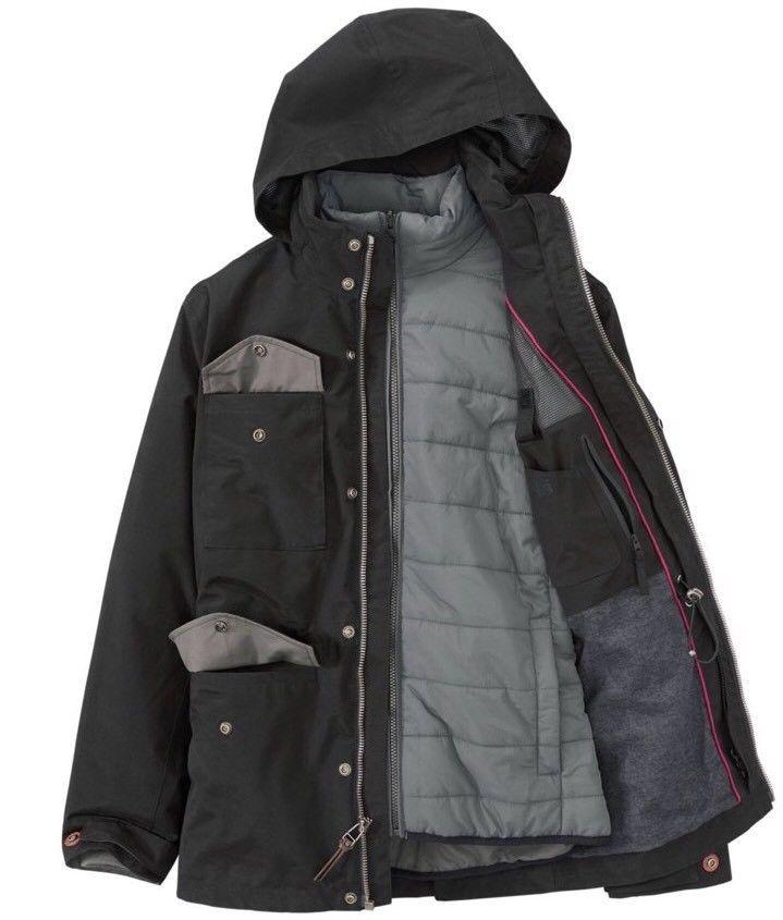 TIMBERLAND MEN'S SNOWDON PEAK 3-IN-1 M65 WATERPROOF JACKET A1NXE SIZE: XL
