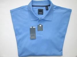 Arrow Cool Cotton Short Sleeve Men's Polo Shirt Silver Lake Blue L MSRP $40 - $16.14