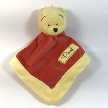 Winnie The Pooh Lovey Disney Baby Security Blanket Embroidered 2011 Kids... - $14.99