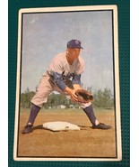 1953 Bowman Color Baseball Card #135 BOBBY MORGAN Dodgers  Light Surface... - $9.85