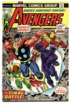 AVENGERS #122-BLACK PANTHER COVER-Thor captain america-1974 - $22.70
