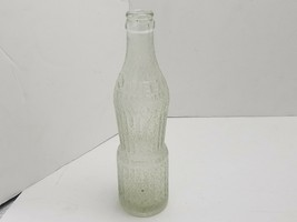 Vintage Squeeze Soda Pop Bottle Cushing Oklahoma One Only Embossed - $12.83