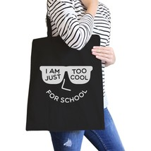 Too Cool For School Black Canvas Bags - $19.89 CAD