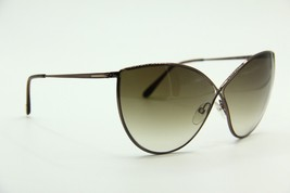 NEW TOM FORD TF 251 36F EVELYN BROWN GRADIENT AUTHENTIC SUNGLASSES 66-5 ... - $124.83