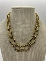 Vintage Edwin Pearl Goldtone Chain Necklace  - $49.49