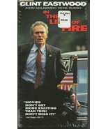 In the Line of Fire VINTAGE VHS Cassette Clint Eastwood - $14.84